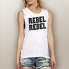 Rebel Rebel - Muscle Tank (More Color Choices)