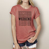 Weekend - Woman's Short Sleeve T-Shirt (More Color Choices)