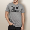 The Catfather (Mens) - Short Sleeve T-Shirt
