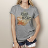 Find Your Road - Woman's Short Sleeve T-Shirt (more color choices)