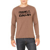 Frankly, I Don't Give A Damn - Unisex Jersey Long-Sleeve T-Shirt (more color choices)