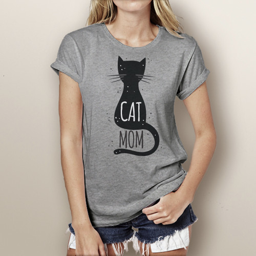Cat Mom - Short Sleeve T-Shirt