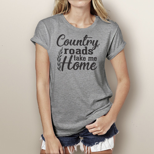Country Roads Take Me Home - Short Sleeve T-Shirt