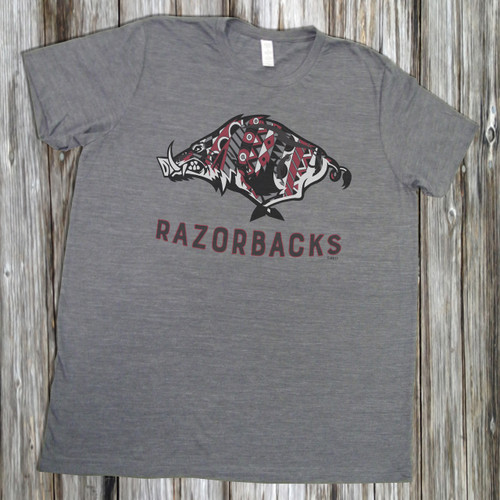 Arkansas Razorbacks- Short Sleeve T-Shirt