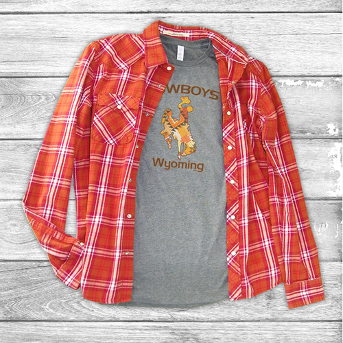 Wyoming Cowboys - Short Sleeve T-Shirt