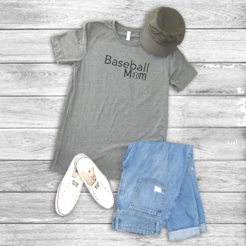Baseball Mom - Short Sleeve T-Shirt