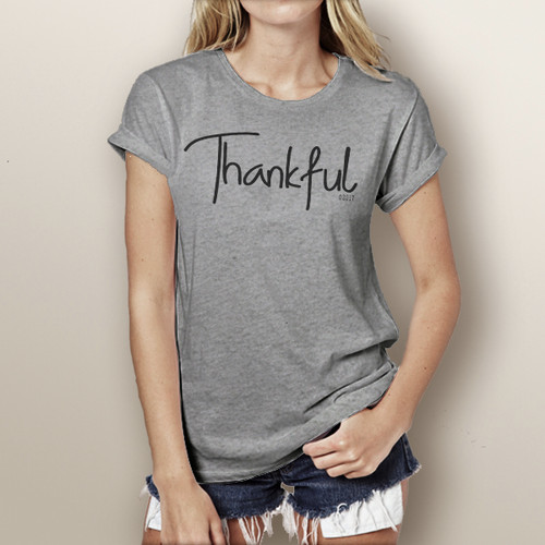 Thankful- Short Sleeve T-Shirt