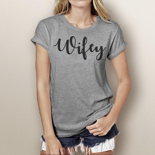 Wifey- Short Sleeve T-Shirt