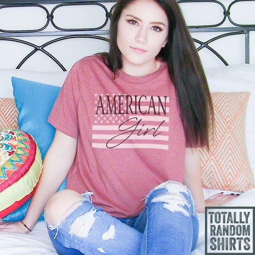American Girl - Short Sleeve T-Shirt