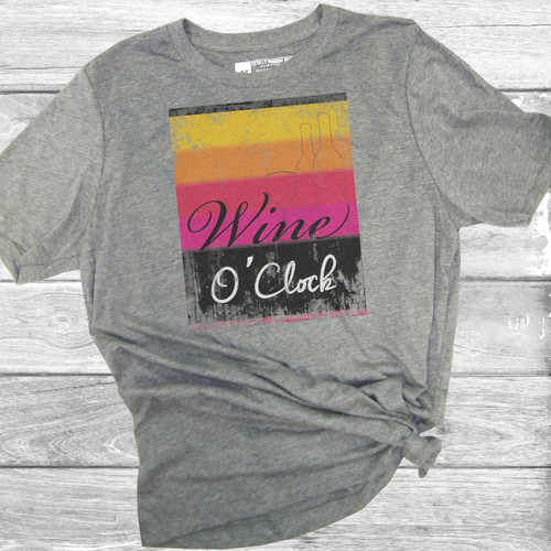 Wine O'Clock - Short Sleeve T-Shirt