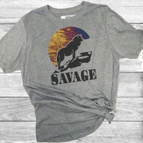 Savage - Short Sleeve T-Shirt