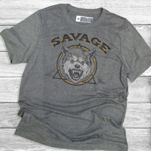 Savage with Teeth - Short Sleeve T-Shirt