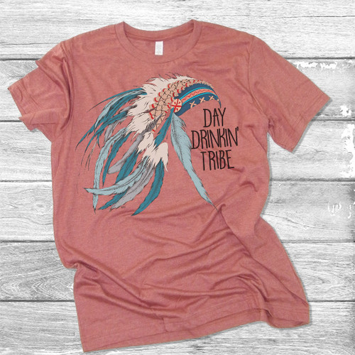 Day Drinkin' Tribe - Short Sleeve T-Shirt (More Color Choices)