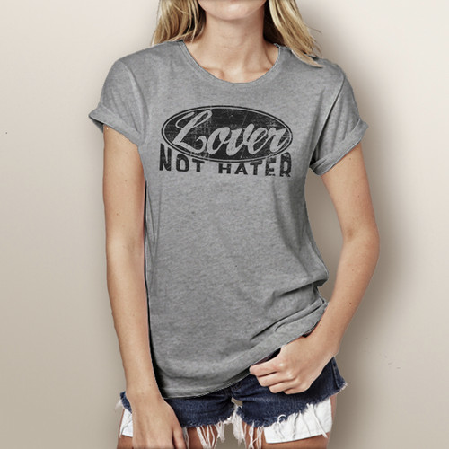 Lover Not Hater - Short Sleeve T-Shirt
