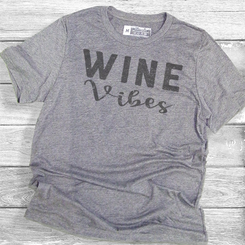 Wine Vibes - Short Sleeve T-Shirt