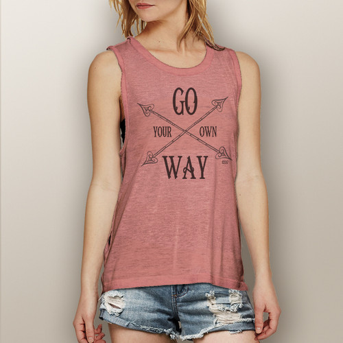 Go Your Own Way - Muscle Tank (more color choices)