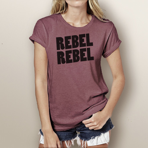 Rebel Rebel - Woman's Short Sleeve T-Shirt (More Color Choices)