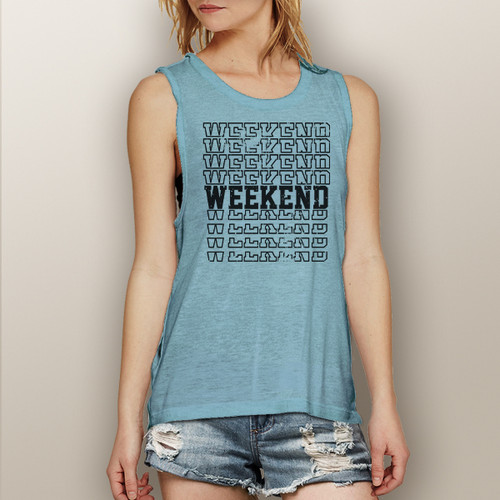 Weekend - Muscle Tank (More Color Choices)