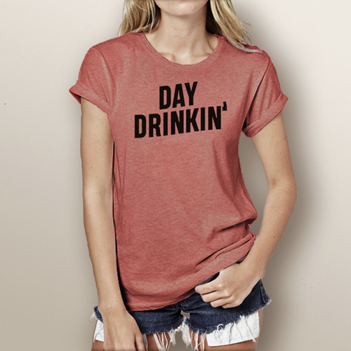 Day Drinkin' - Woman's Short Sleeve T-Shirt (More Color Choices)