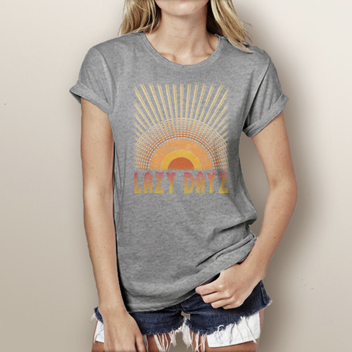 Lazy Days - Woman's Short Sleeve T-Shirt (more color choices)