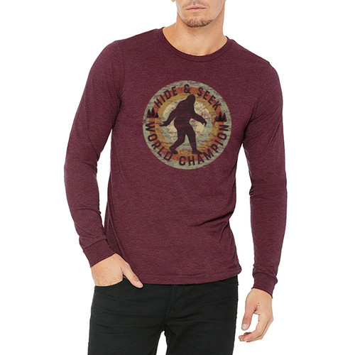 Hide and Seek World Champion  - Unisex Jersey Long-Sleeve T-Shirt (more color choices)