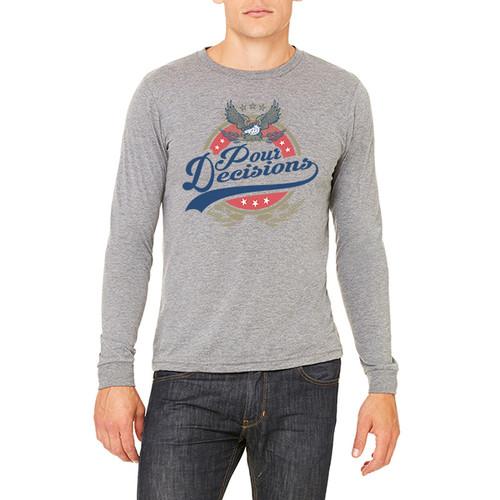 Pour Decisions - Unisex Jersey Long-Sleeve T-Shirt (more color choices)