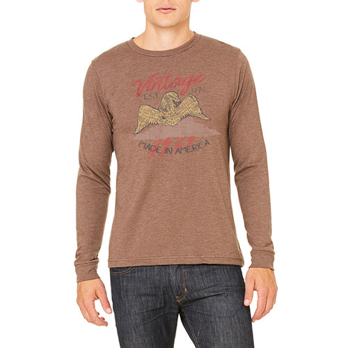 Vintage Made in America - Unisex Jersey Long-Sleeve T-Shirt (more color choices)