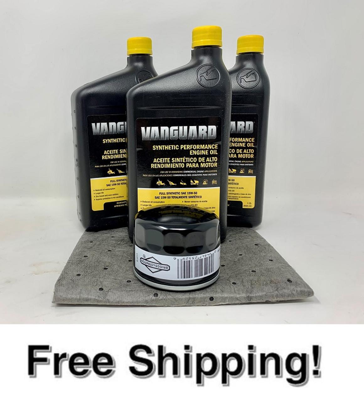 BRIGGS & STRATTON / VANGUARD OIL KIT 28HP - 36HP