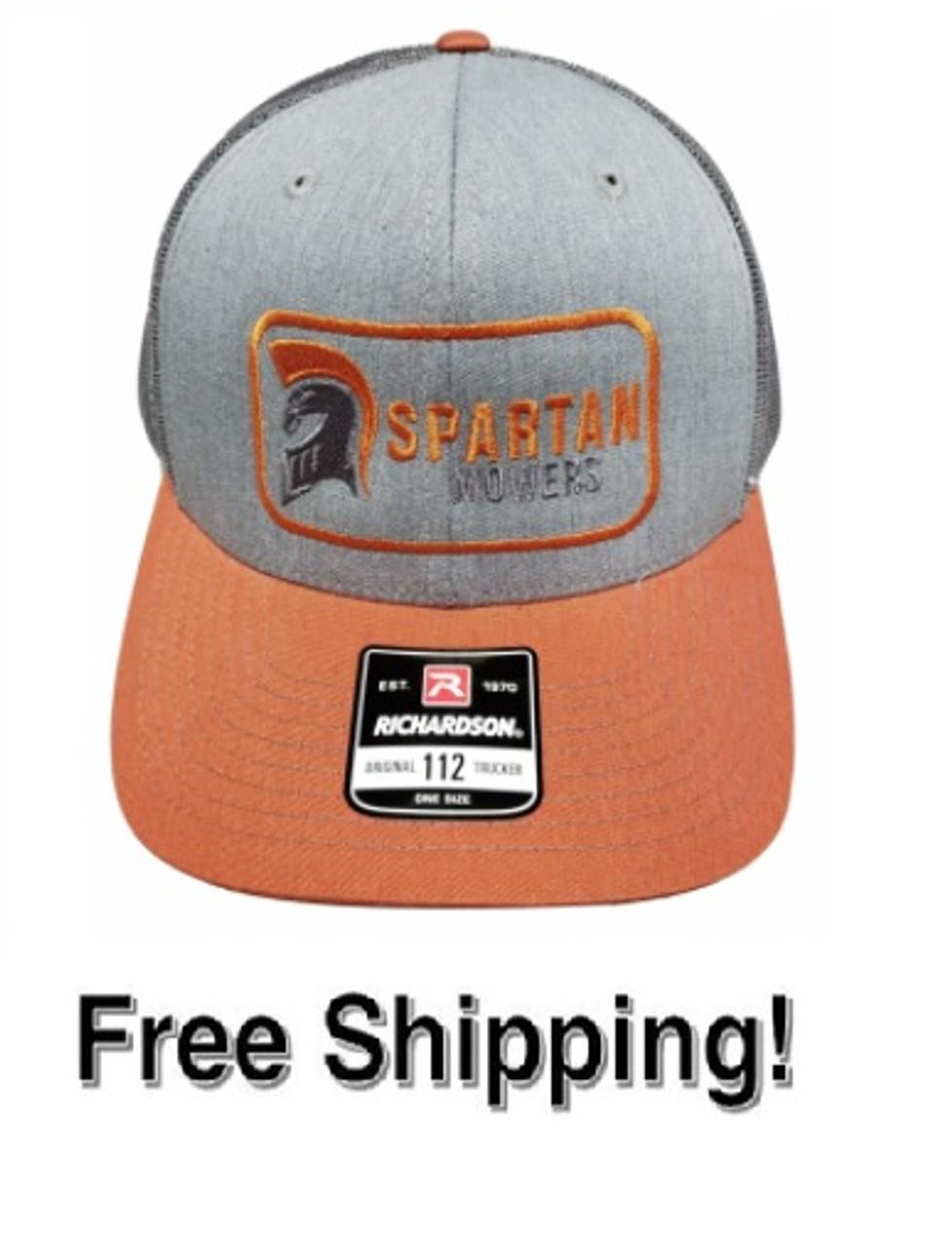 Spartan Dark Orange Bill Hat