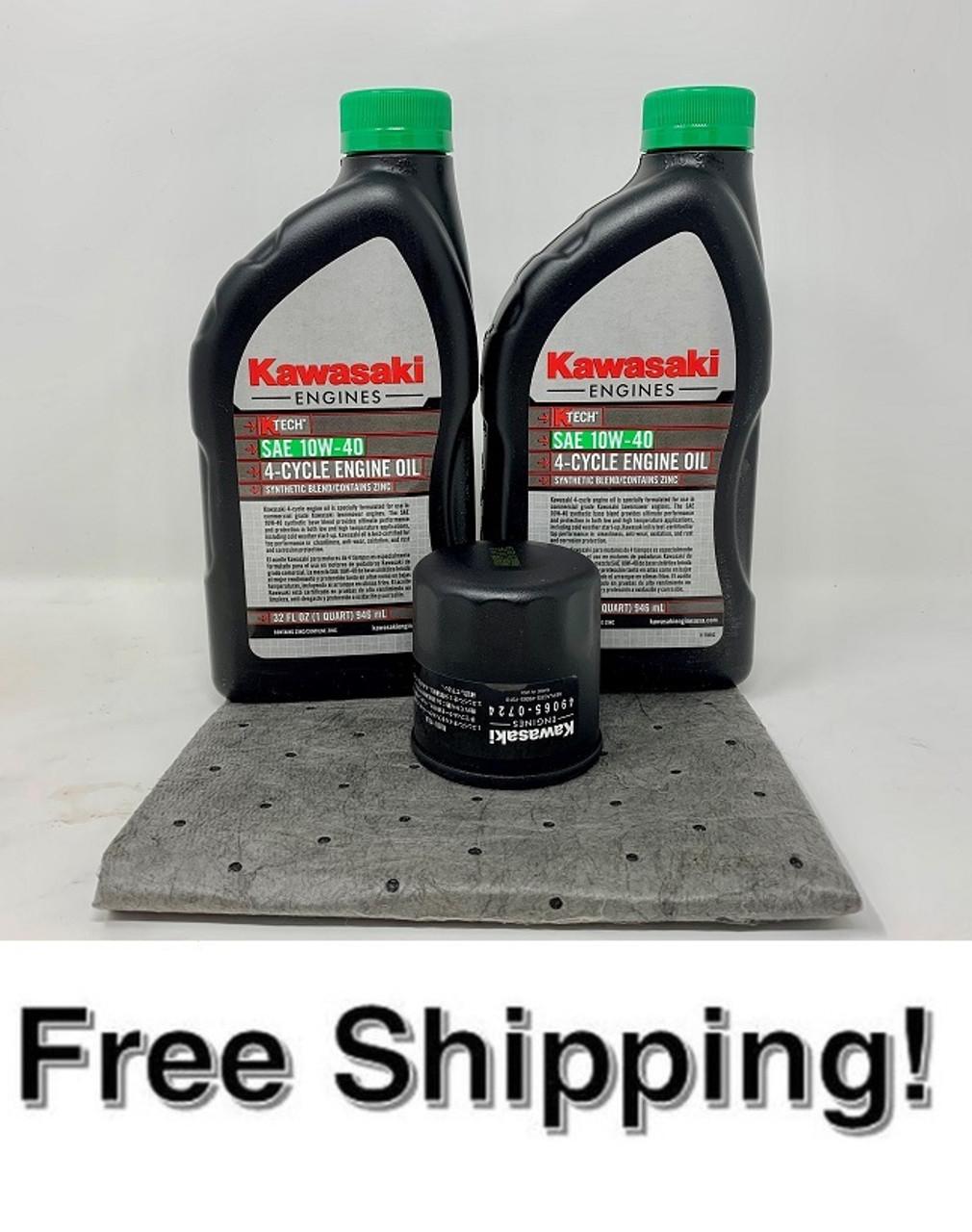 Kawasaki Oil Change Kit