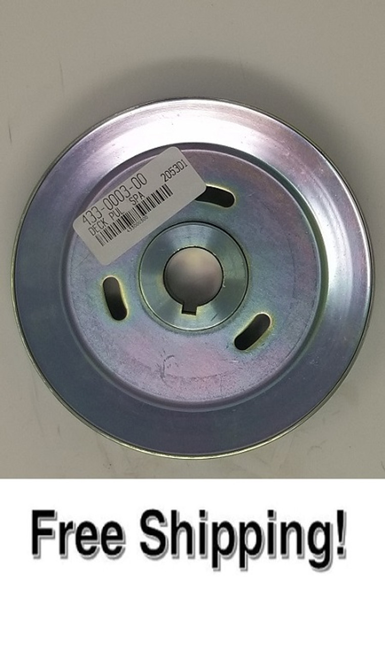 "61"" Spindle Pulley"