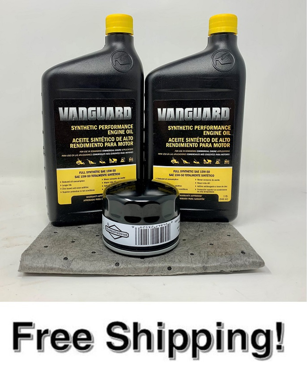 Briggs& Stratton/ Vanguard Oil Change Kit up to 28HP