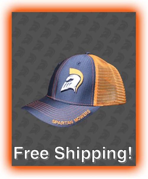 Spartan Snapback Ballcap - Orange/Gray