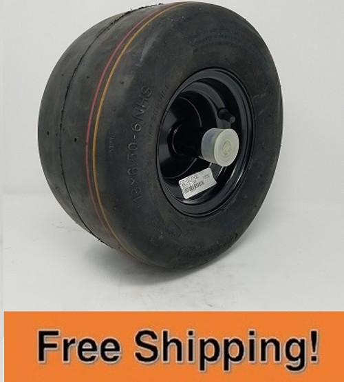 Front Caster Tire and Wheel Asm (Standard for all RZ)