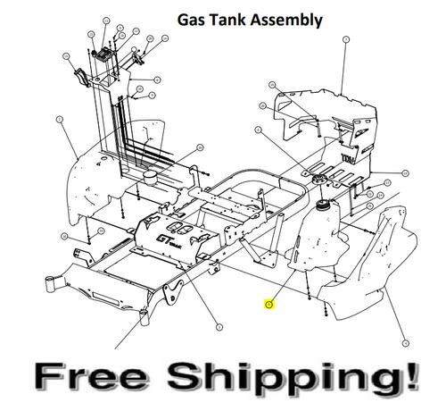 RZ Gas Tank Assembly