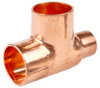 22mm x 15mm x 22mm Reducing Tee - End Feed