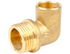 """22mm x 3/4"""" x End Feed to Male Iron Elbow"""
