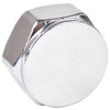 "3/4"" Chrome Plated Brass Threaded Cap"
