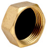 "1"" Brass Threaded Cap"