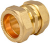 28mm Brass Compression Coupling