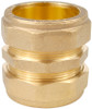 42mm Brass Compression Coupling