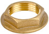 1 1/4 inches BSP Flanged Basin Waste Brass Backnut