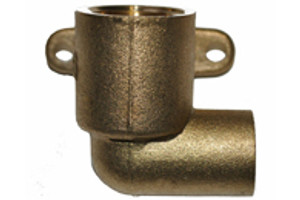 End Feed Wallplate Fittings