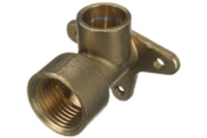 Solder Ring Wallplate Fittings