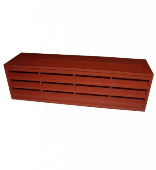 "Stadium BM483/2 Single Terracotta Airbrick 9"" x 3"""