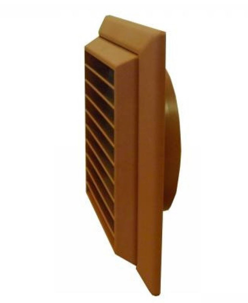 Terracotta Grill & Flyscreen for 100mm Round Duct