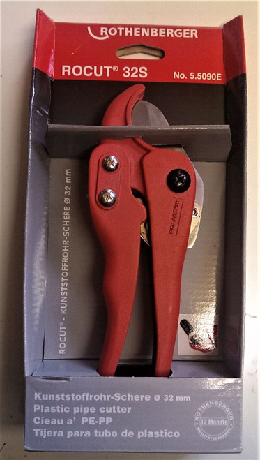 Rothenberger 5.5090E ROCUT ,32mm ratchet shears