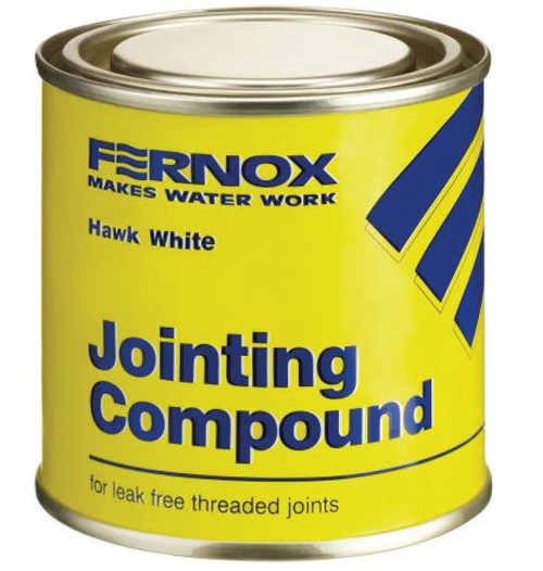 400g FERNOX Hawk White Jointing Compound