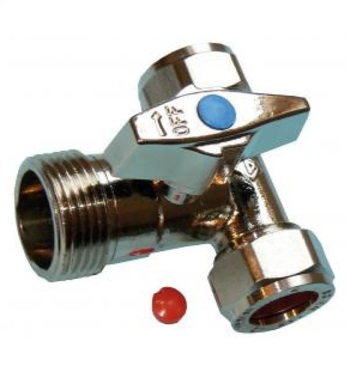 Tee Washing Machine Valve
