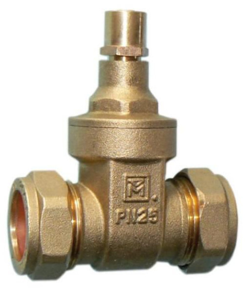 28mm Lockshield Gate Valve